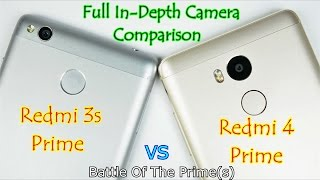 Xiaomi Redmi: 3s Prime Vs 4 Prime: Full In-Depth Camera Comparison