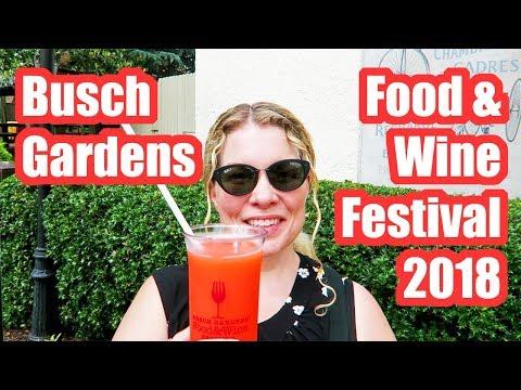 Busch Gardens Food & Wine Festival Williamsburg, Virginia 2018 Review!