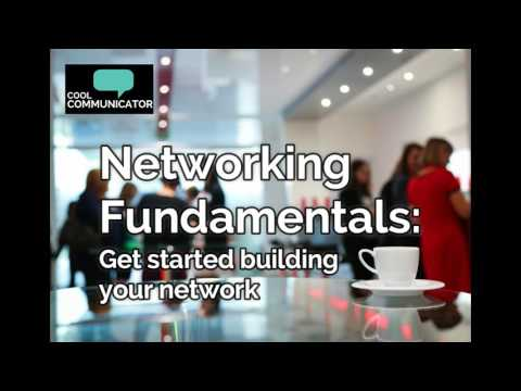 Networking Fundamentals: Get Started Building Your Network (Audio)