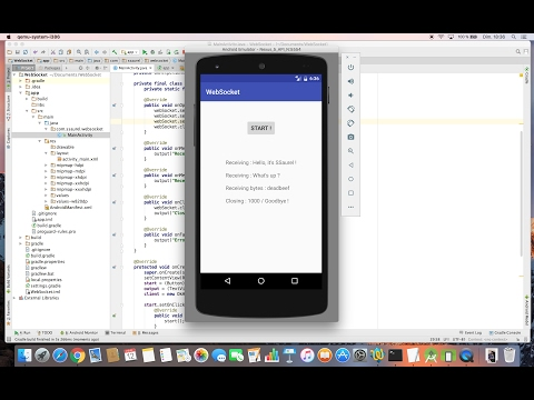 Learn to use WebSockets on Android with OkHttp