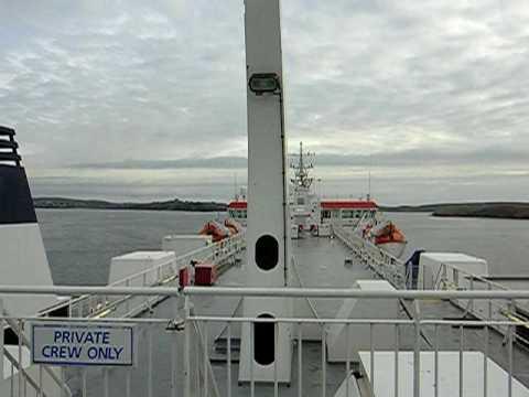 Arriving into the Shetlands