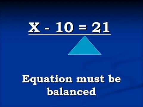Solving a single variable equation that contains a negative constant.
