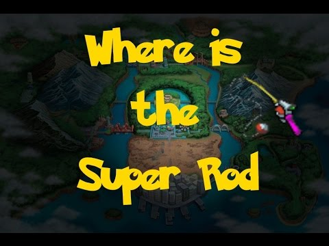 Where Is: The Super Rod (Pokemon Black/White)