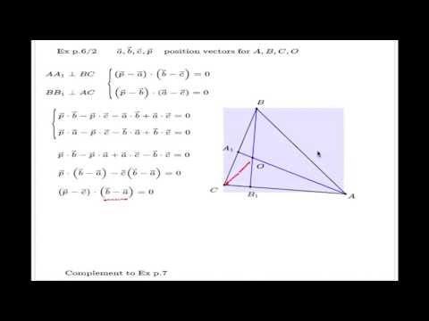 Altitudes of triangle concurrent