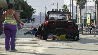 Grand Theft Auto V (Xbox 360) Free Roam Gameplay #24 (𝐏𝐎𝐕: 𝐘𝐨𝐮'𝐫𝐞 𝐩𝐥𝐚𝐲𝐢𝐧𝐠 𝐆𝐓𝐀 𝟓 𝐨𝐧 𝟑𝟔𝟎/𝐏𝐒𝟑 𝐢𝐧 𝟐𝟎𝟏𝟑)