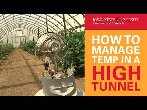 How to Manage Temperatures in a High Tunnel