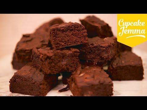 VEGAN VEGAN VEGAN Chocolate Brownies! | Cupcake Jemma