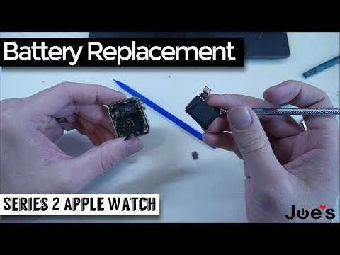 How to Replace Battery in your iWatch Series 2 Apple Watch