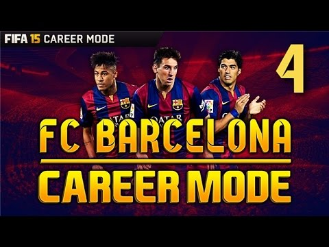 FIFA 15 Career Mode - AMAZING NEW TRANSFERS!BEST TEAM EVER! - Barcelona Season 1 Episode 4