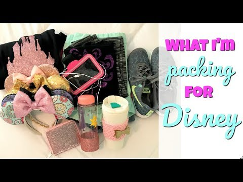 WHAT TO PACK FOR DISNEY | WHAT'S IN MY DISNEY BAG