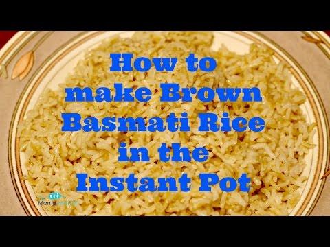 Make Brown Basmati Rice in the Instant Pot (Recipe)