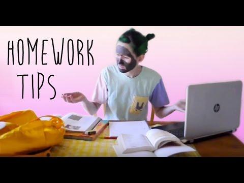 Tips on Starting Your Homework