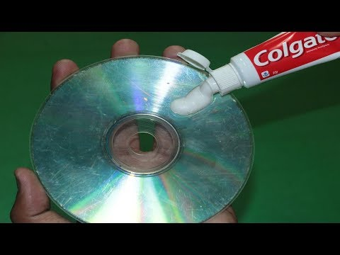How To Fix And Clean Scratched CDs Games DVDs or Movies At Home