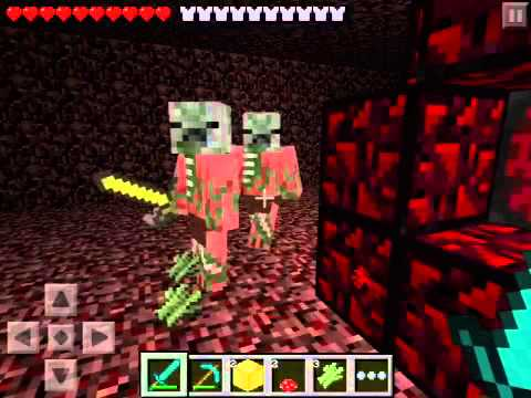 How to go to hell on minecraft pe ( nether portal )