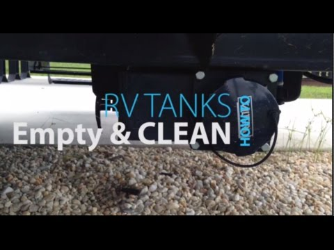 Clean and Empty RV Tank: Unclog RV Toilet