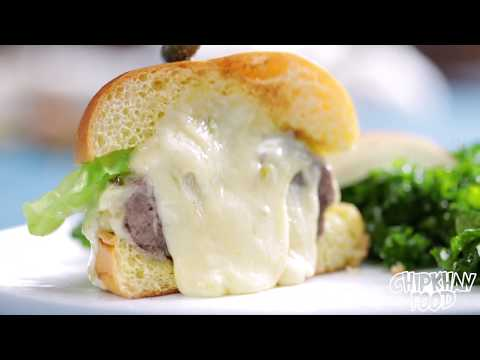 How to Cook Raclette Fondue Burgers