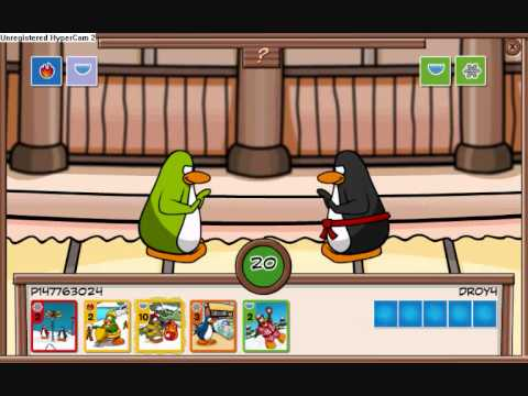 Club Penguin Stamps- Element one and Grasshopper