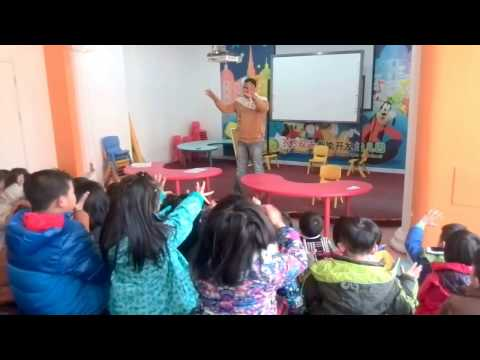 How to Manage a big classroom, ESL class,with 3&3 international kindergarten students,2012