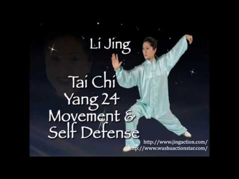Coach Li Yang-Style 24-Form Taijiquan