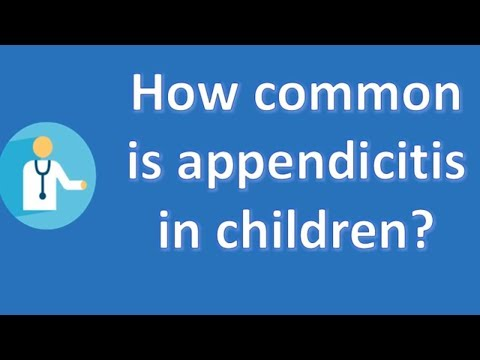 How common is appendicitis in children ? | Good Health for All