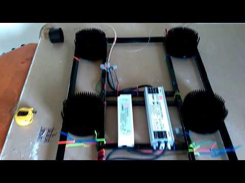 DIY grow light. Vero29se cobs.