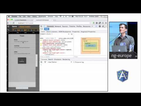 Ionic Framework by Andrew Joslin at ng-europe 2014