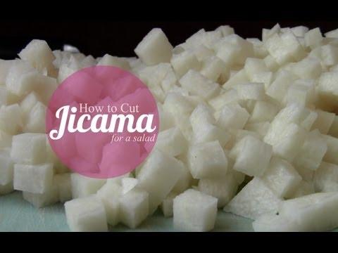 How to Cut Jicama for a Salad