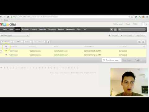 How to mass update/bulk edit records in Zoho CRM