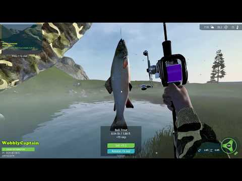 Ultimate Fishing Simulator Trying To Catch A Bull Trout Betty Lake