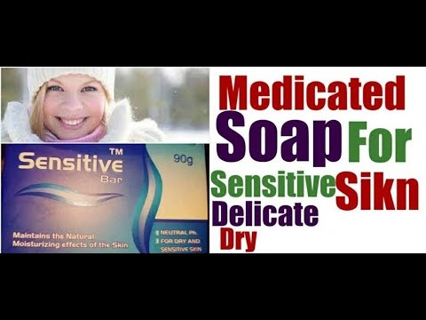 Best Medicated soap for sensitive,Dry,Delicate SKIN//Sensitive Soap Review