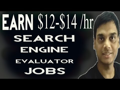 Earn from Search Engine Evaluator jobs Explained   Google search evaluator job   Hindi
