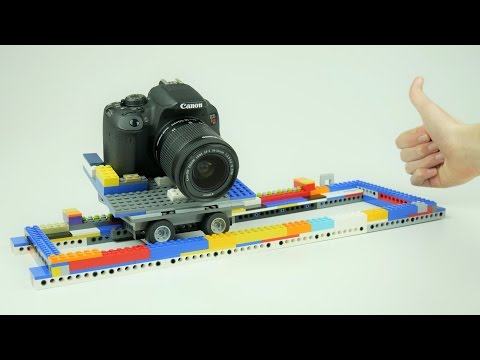How to BUILD a LEGO Camera Slider for Stop Motion Animation