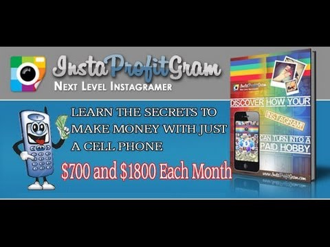 Money from Instagram with InstaProfitGram