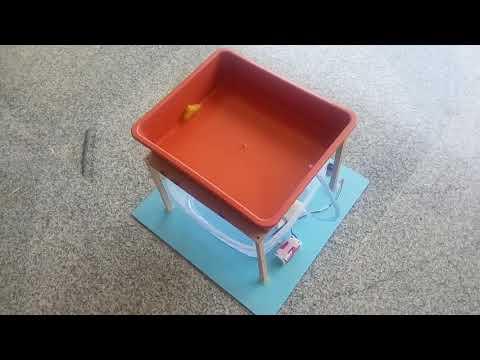 How to make - Fish Tank - DIY Model ?