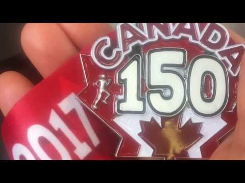 2017 Canada Day! (Time-lapse of Living Maple Leaf in Description) #canada150 #winnipeg 🇨🇦
