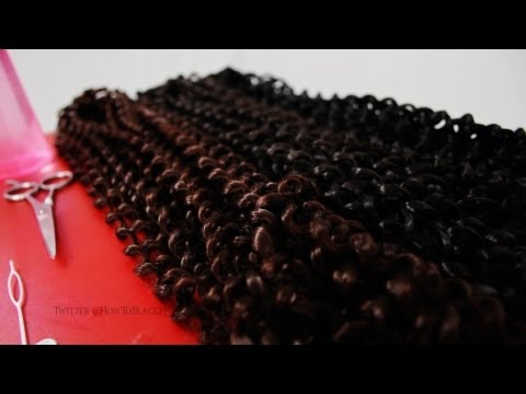 How To Do Latch Hook Crochet Braids Protective Style Tutorial Supplies Part 1