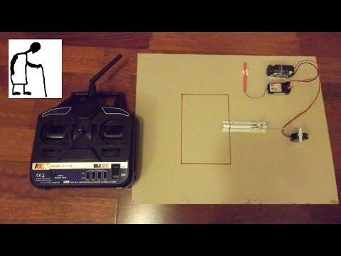 Simple RC Electric Door Lock