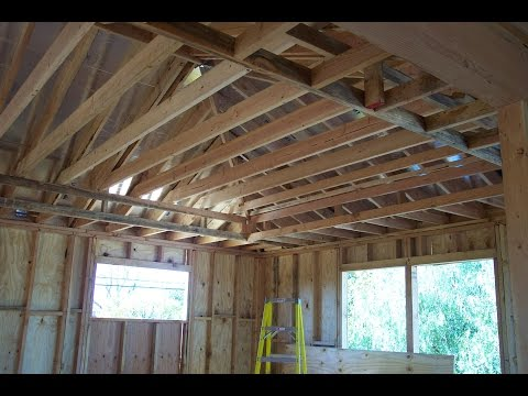 Problems Raising Existing Ceiling Joist And Attaching To Roof Rafters