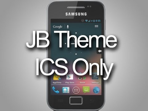 Android 4.1 JellyBean theme for CyanogenMod 9 - Samsung Galaxy Ace