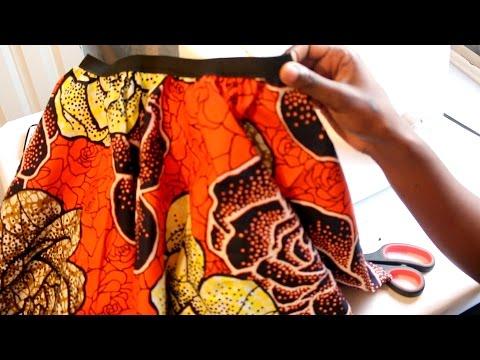 Sewing tutorial : Circle Skirt | African printed fabric