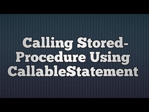 15.Calling StoredProcedure Using CallableStatement | How to Call Stored Proc in JDBC