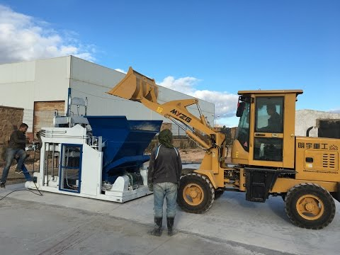 egg laying/mobile block machine DMYF-18A Made in China