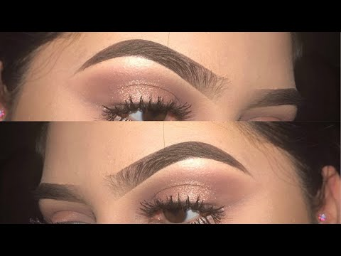 Eyebrow tutorial   ABH dipbrow pomade