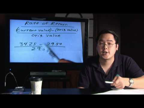Math in Daily Life : How to Calculate Rate of Return