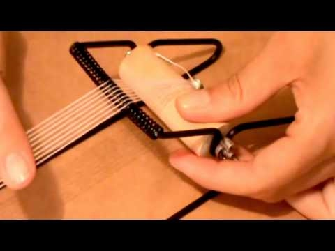Beads Projects - How to use a beading loom