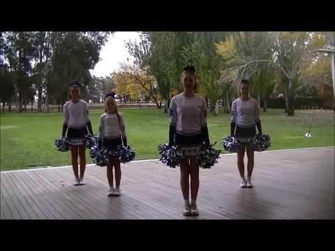 Learn a new pom pom routine - Dances for children