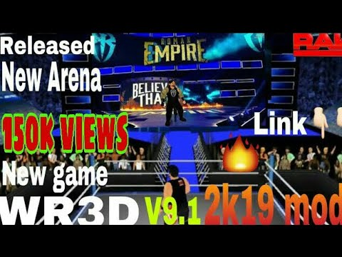 WR3D V91 2K19 Mod WWE Released With Download Link BY GAMING
