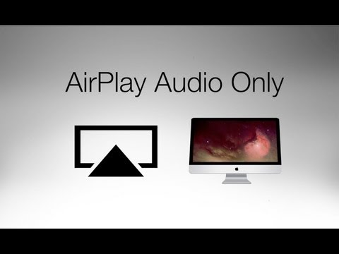 How to Output Audio Only with AirPlay on a Mac
