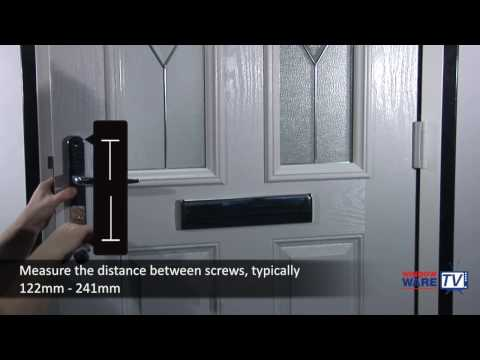 How to change, remove and fit a door handle to a uPVC or composite door