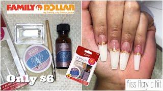 $6 Acrylic Kit • Kiss Acrylic Nail Kit